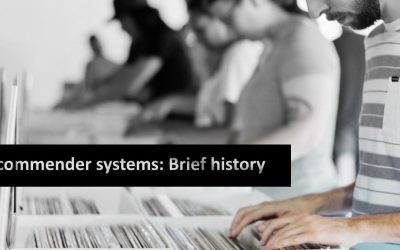 History of recommender systems
